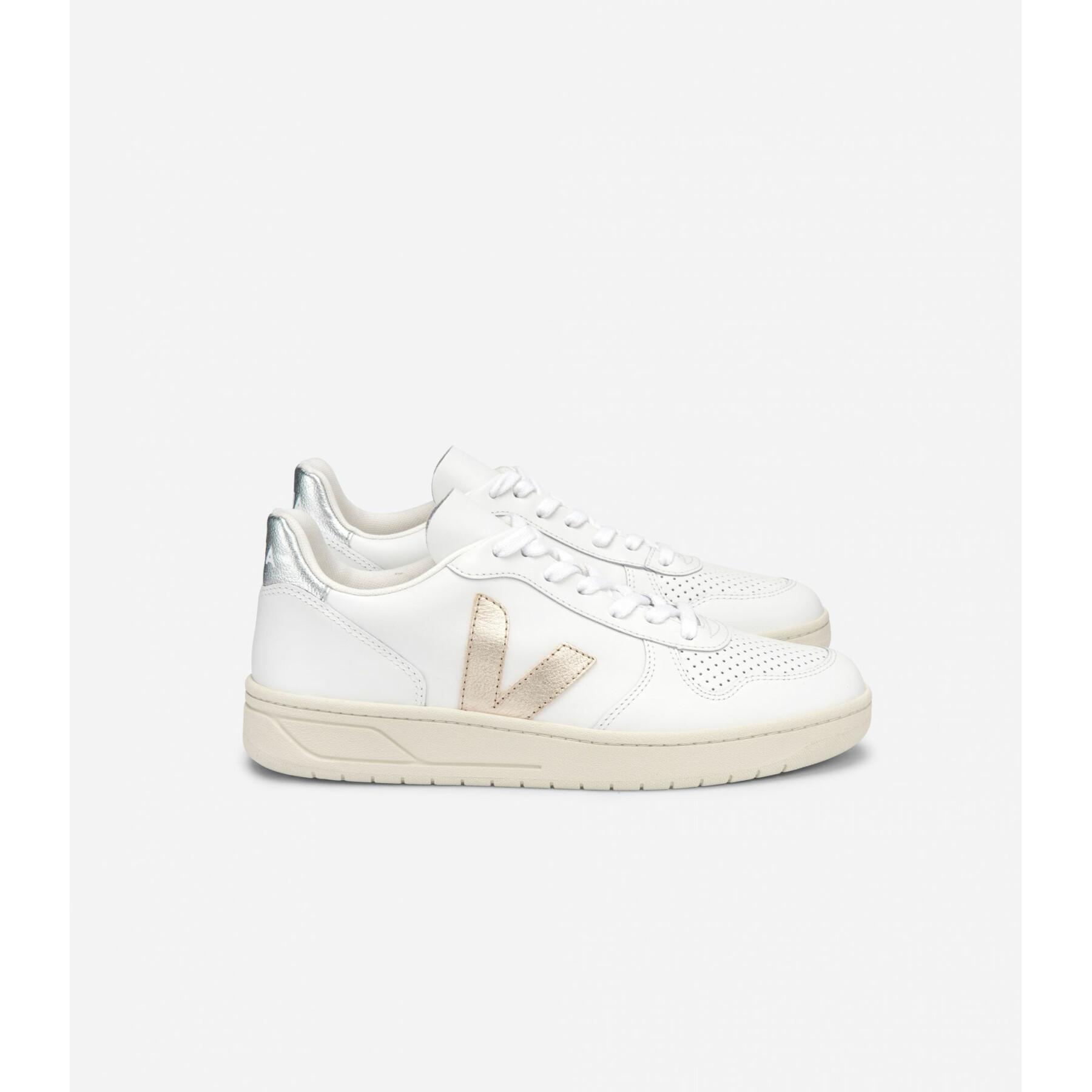 Zapatos de mujer Veja V-10 Leather