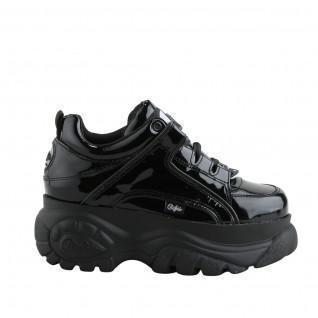 Zapatos de mujer Buffalo London 1339-14 2.0 negro patent leather