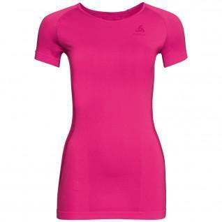 Camiseta de mujer Odlo s/s crew neck Essentials Seamless Warm