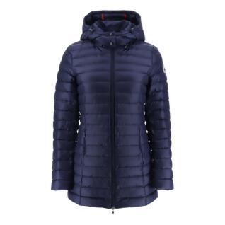 Chaqueta con capucha para mujer Jott Nour Mi-long Basic