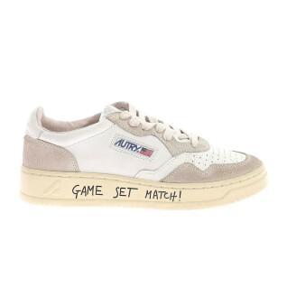 Zapatillas de deporte para mujeres Autry 01 write crack low mom