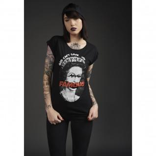 Camiseta de mujer Famous God can't Save