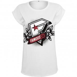 Camiseta de mujer Famous Famous CA