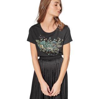 Camiseta estampada de manga corta para mujer Le temps des cerises Frankie