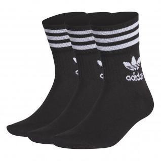 Juego de 3 pares de calcetines de media caña adidas Originals
