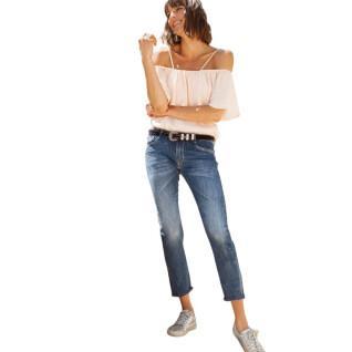 Pantalones vaqueros boyfit de mujer Le temps des cerises Sea 200/43