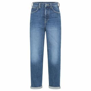 Pantalones vaqueros de mujer Lee Carol Button Fly in Mid Newberry