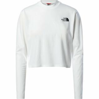 Camiseta de manga larga para mujer The North Face Crop