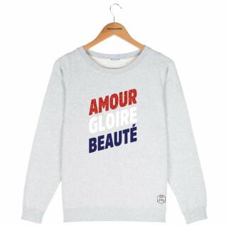 Sudadera cuello redondo mujer French Disorder Amour gloire beauté