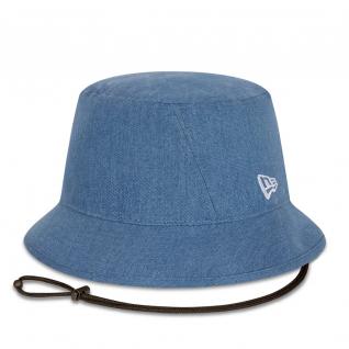 Sombrero bob de mujer New Era Washed denim