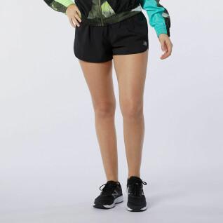 Pantalones cortos de mujer New Balance accelerate 2.13 cm