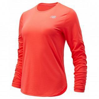 Camiseta de manga larga para mujer New Balance accelerate